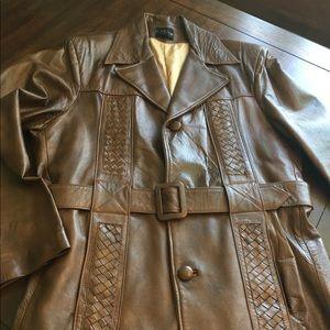 Vintage Men's Arte Diel Leather Jacket